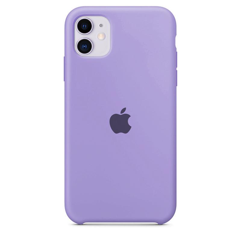 Case Capinha de Silicone Lilás para iPhone 11