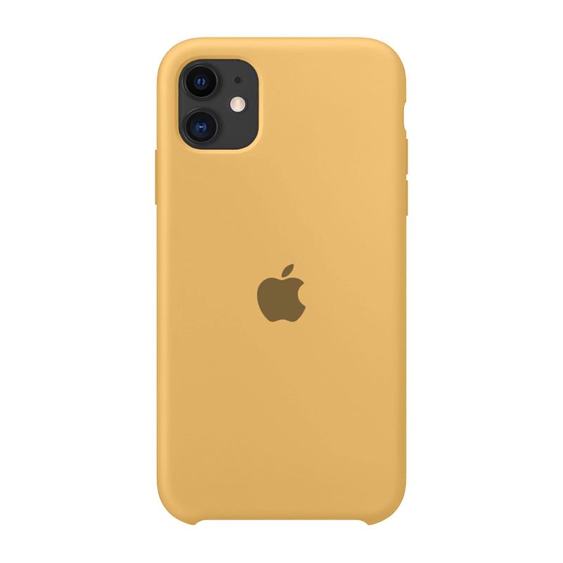 Case Capinha de Silicone Mostarda para iPhone 11