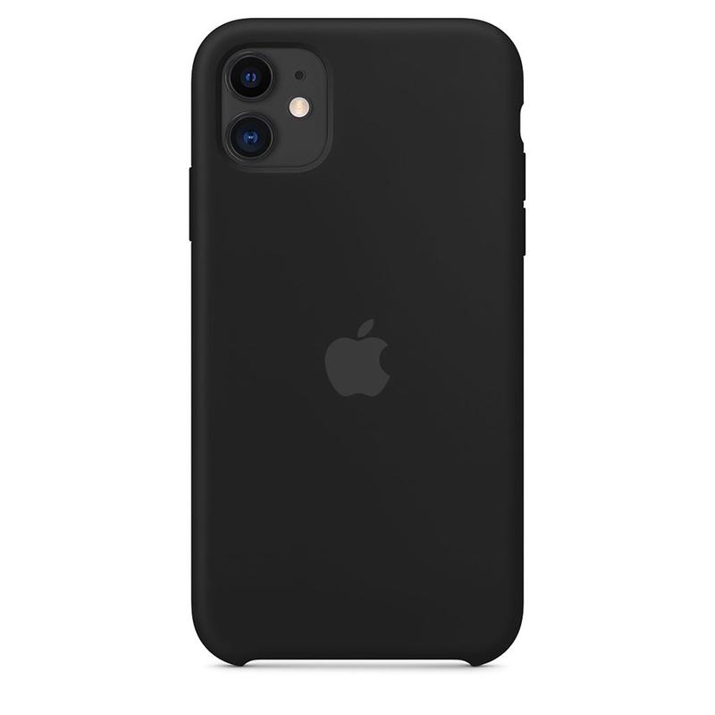 Case Capinha de Silicone Preta para iPhone 11