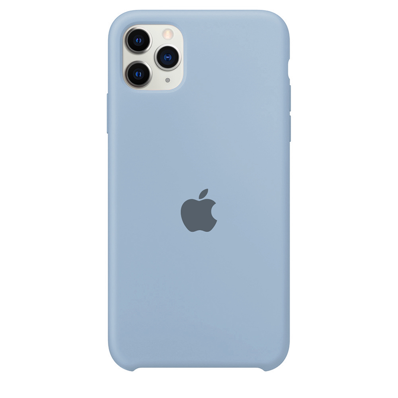 Case Capinha Azul Bebê para iPhone 11 Pro de Silicone