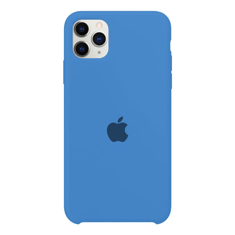 Case Capinha Azul Royal para iPhone 11 Pro de Silicone