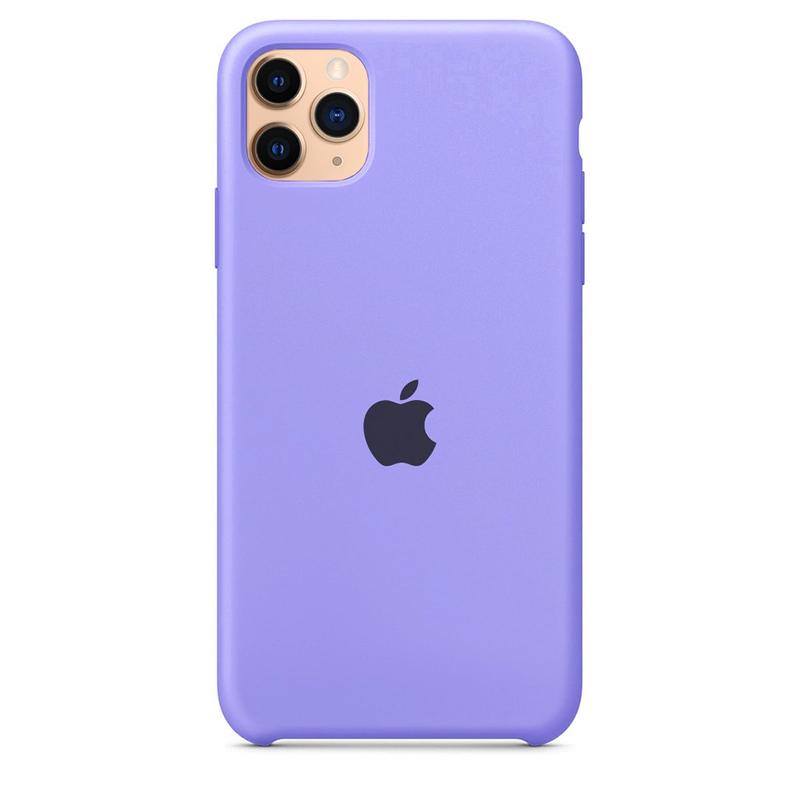 Case Capinha Lilás para iPhone 11 Pro de Silicone