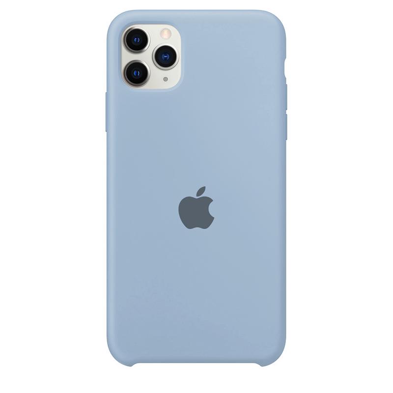 Case Capinha Azul Bebê para iPhone 11 Pro Max de Silicone