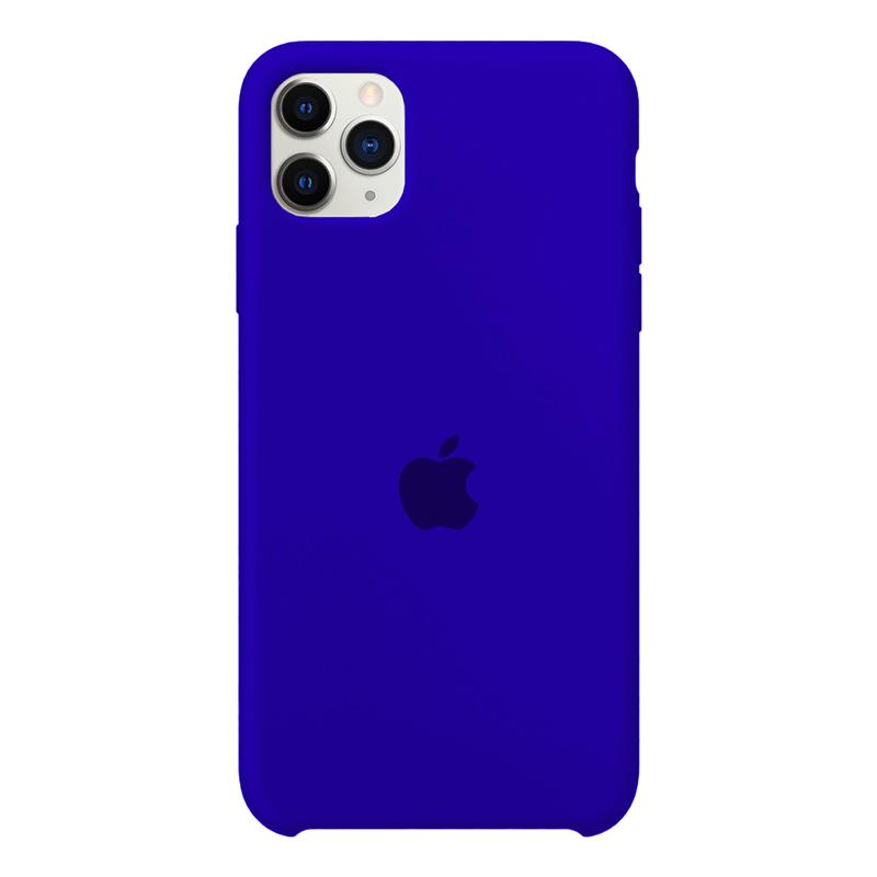 Case Capinha Azul Caneta para iPhone 11 Pro Max de Silicone