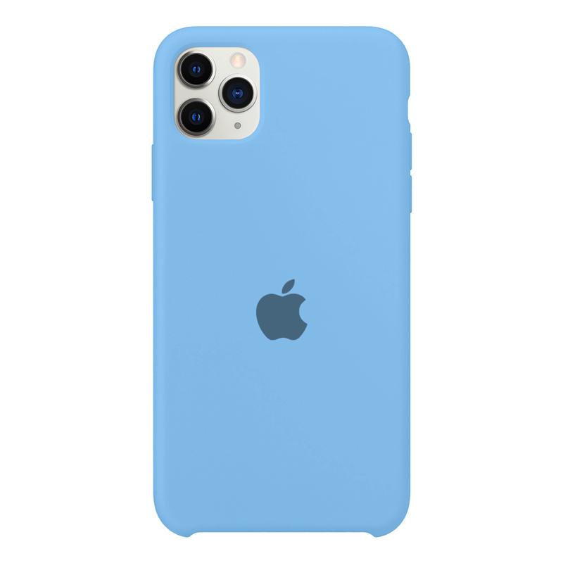 Case Capinha Azul Caribe para iPhone 11 Pro Max de Silicone