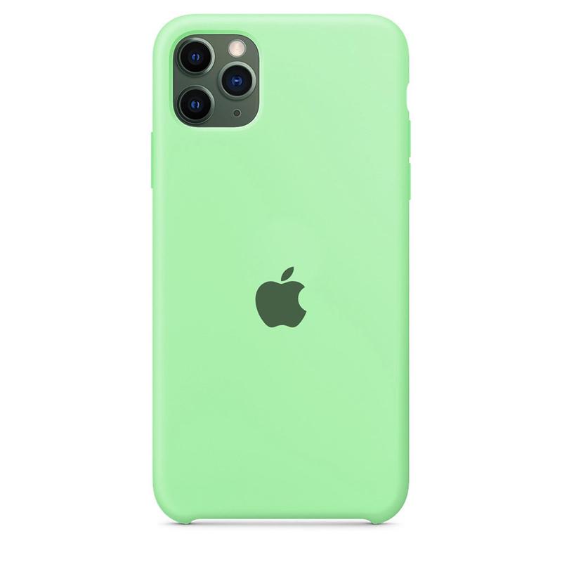 Case Capinha Azul Tiffany para iPhone 11 Pro Max de Silicone