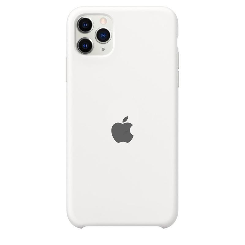 Case Capinha Branca para iPhone 11 Pro Max de Silicone