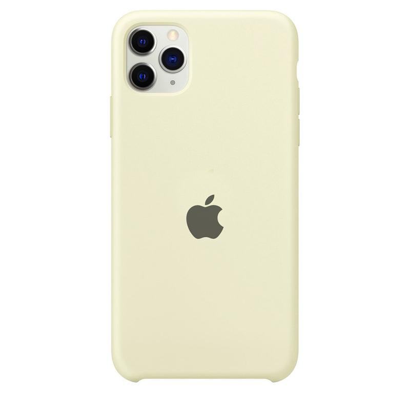 Case Capinha Branco Off-White para iPhone 11 Pro Max de Silicone