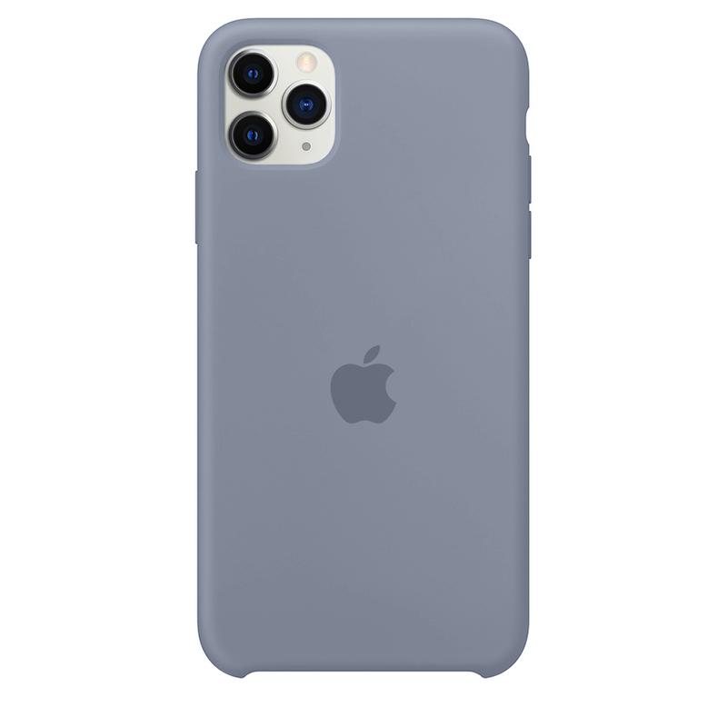 Case Capinha Cinza Azulado para iPhone 11 Pro Max de Silicone