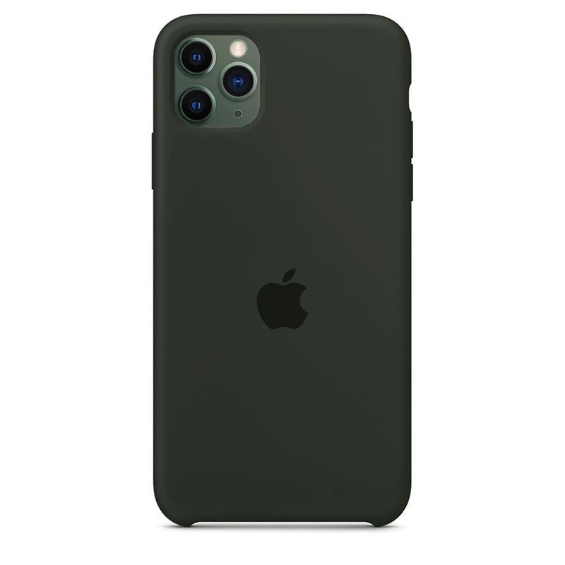 Case Capinha Cinza Escuro para iPhone 11 Pro Max de Silicone
