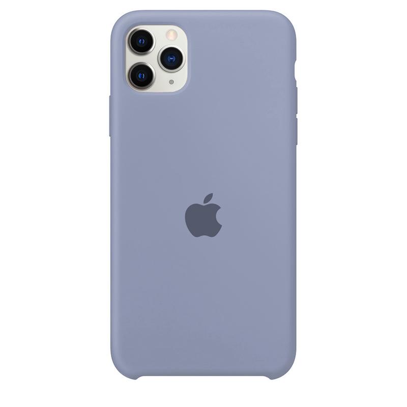 Case Capinha Cinza Lavanda para iPhone 11 Pro Max de Silicone