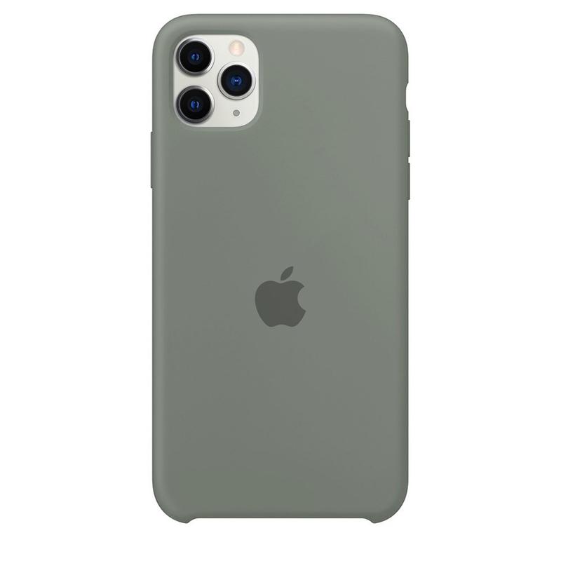 Case Capinha Cinza para iPhone 11 Pro Max de Silicone