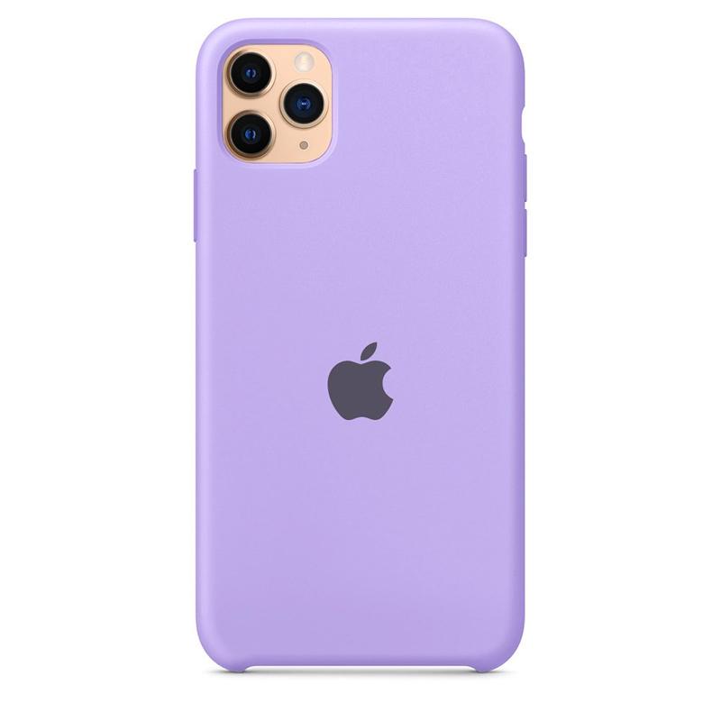 Case Capinha Lavanda para iPhone 11 Pro Max de Silicone