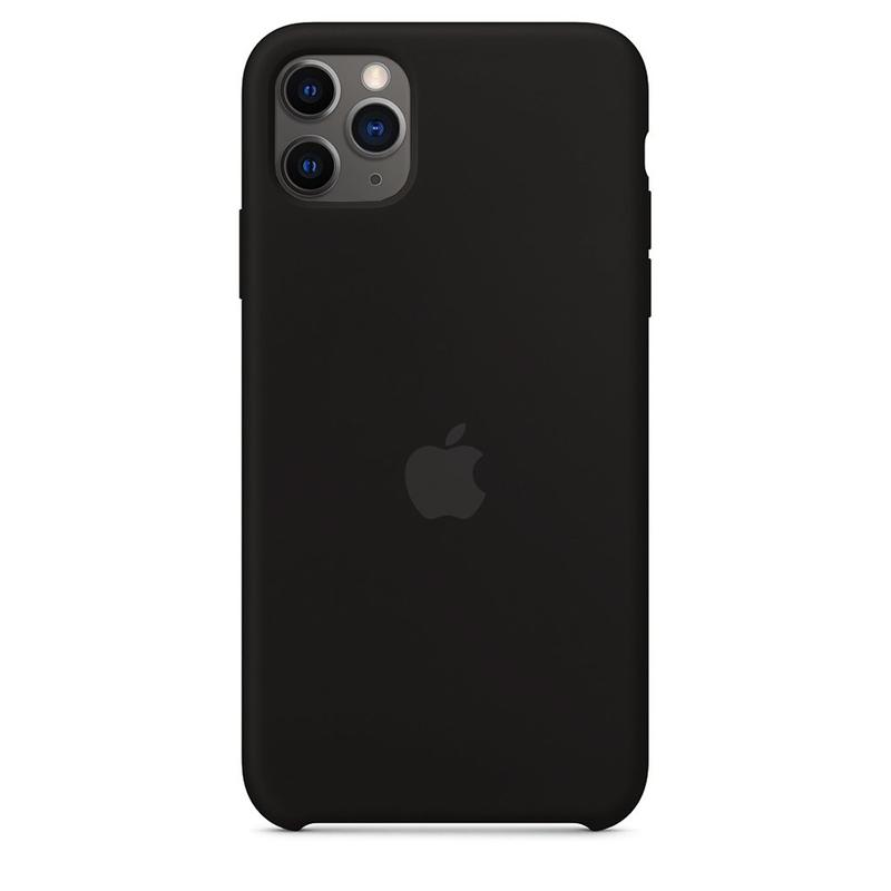 Case Capinha Preta para iPhone 11 Pro Max de Silicone