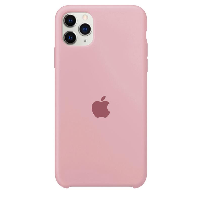 Case Capinha Rosa Chiclete para iPhone 11 Pro Max de Silicone