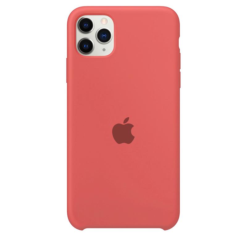 Case Capinha Rosa Neon para iPhone 11 Pro Max de Silicone