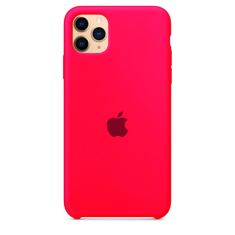 Case Capinha Rosa Pink para iPhone 11 Pro Max de Silicone
