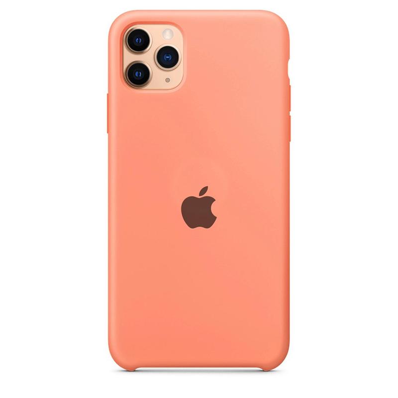 Case Capinha Rosa para iPhone 11 Pro Max de Silicone