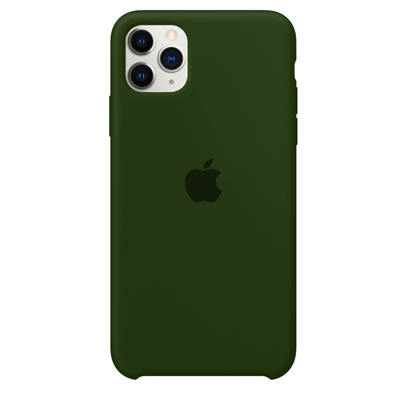 Case Capinha Verde Bandeira para iPhone 11 Pro Max de Silicone