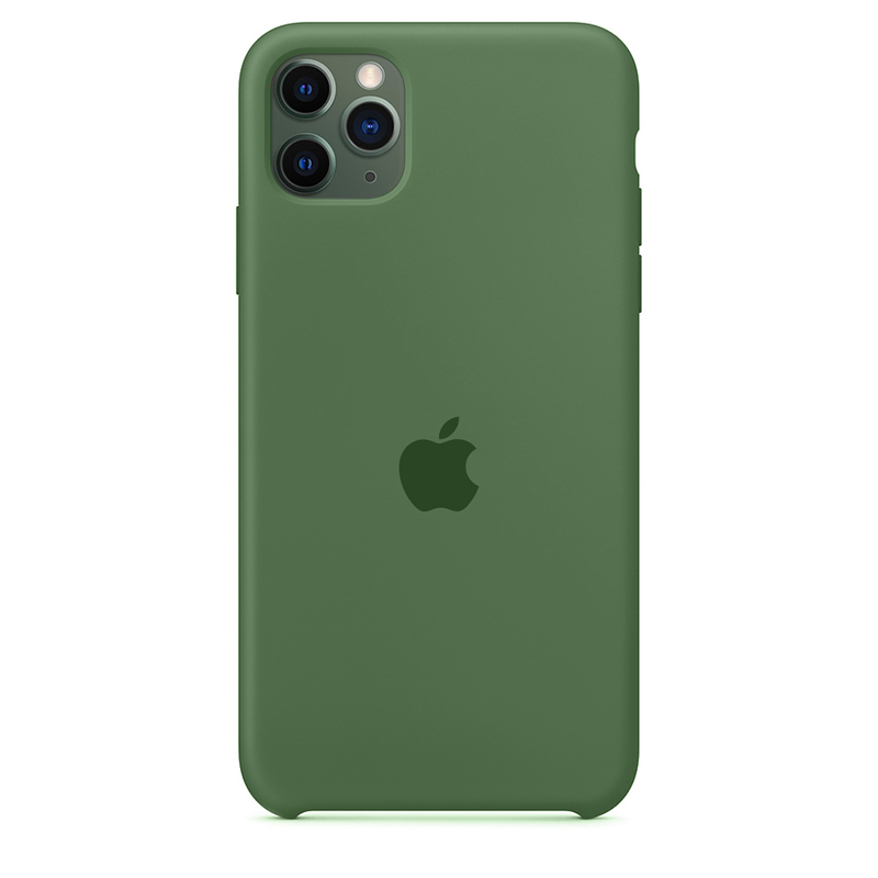 Case Capinha Verde Pacífico para iPhone 11 Pro Max de Silicone