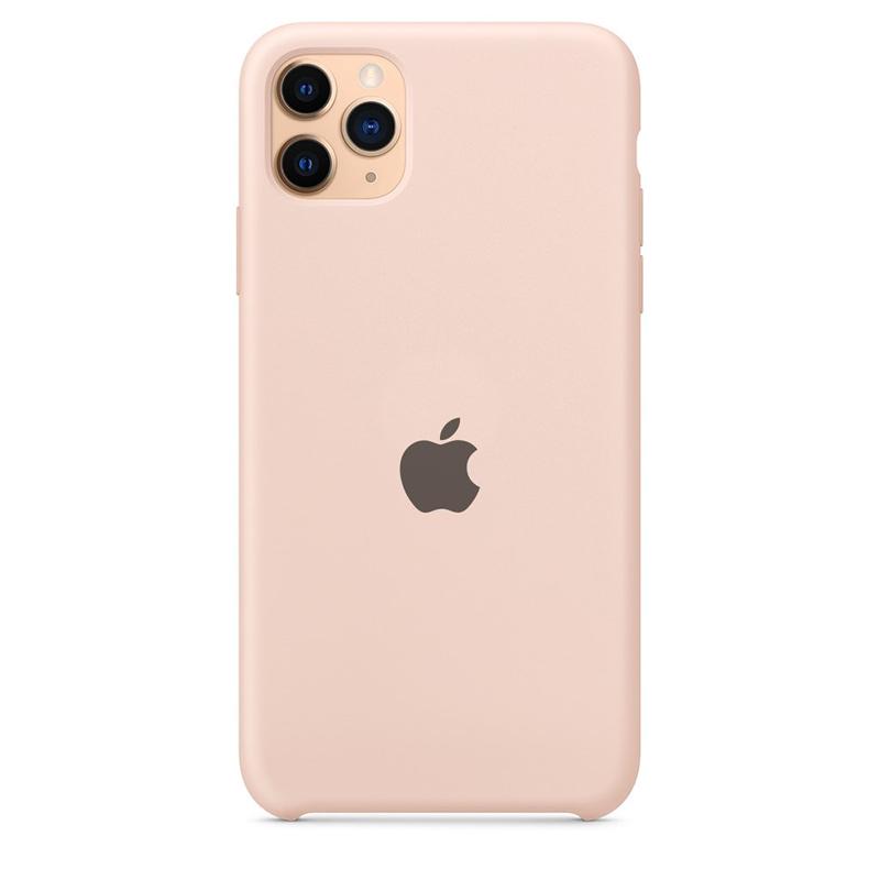 Case Capinha Rosa Areia para iPhone 11 Pro de Silicone
