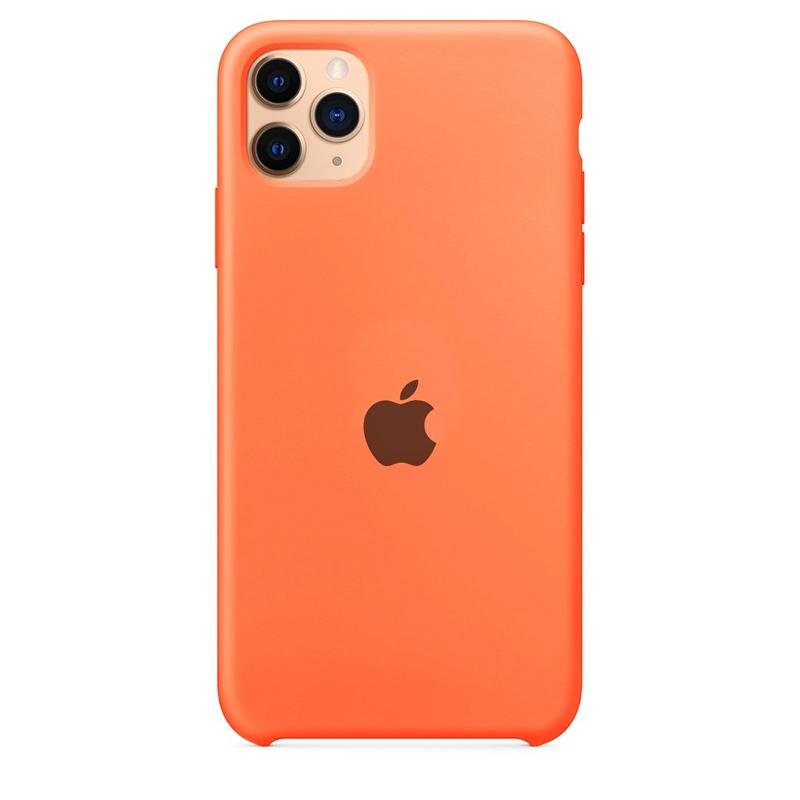 Case Capinha Tangerina para iPhone 11 Pro de Silicone