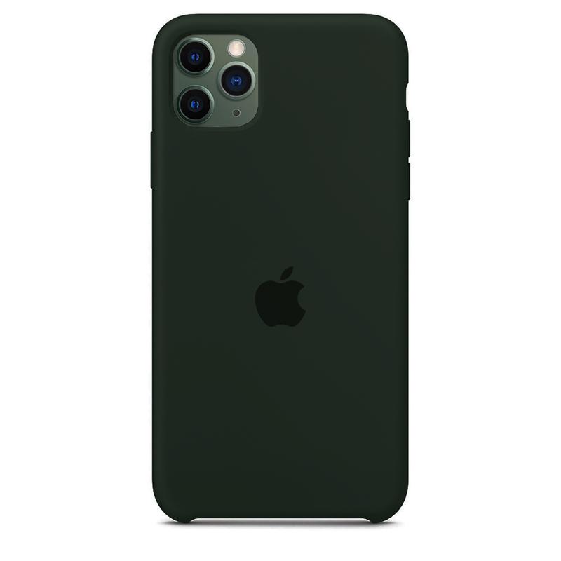 Case Capinha Verde Floresta para iPhone 11 Pro de Silicone