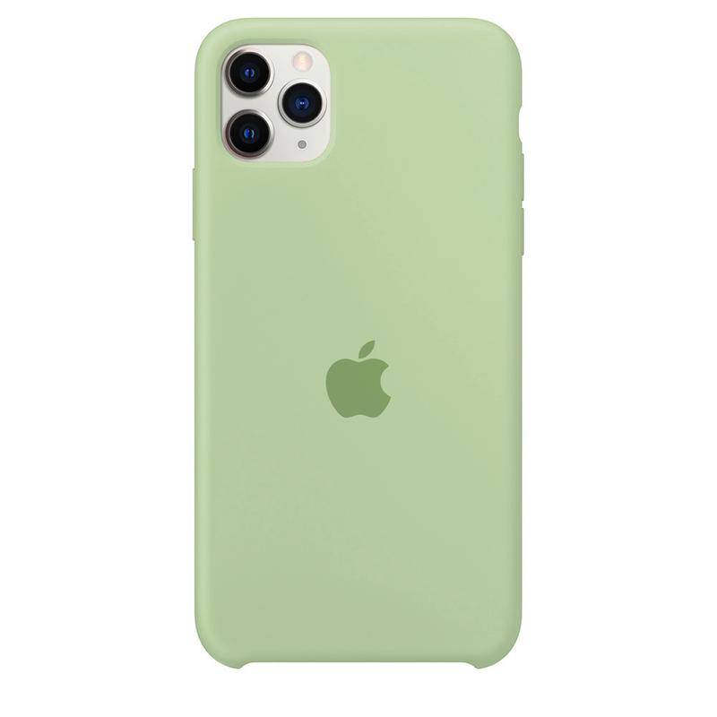 Case Capinha Verde Menta para iPhone 11 Pro de Silicone