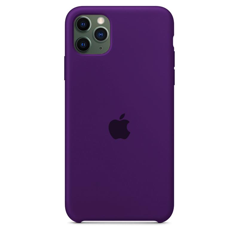 Case Capinha Violeta para iPhone 11 Pro de Silicone