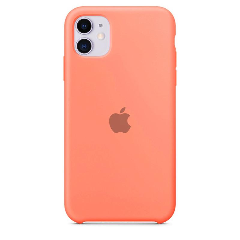 Case Capinha de Silicone Rosa para iPhone 11
