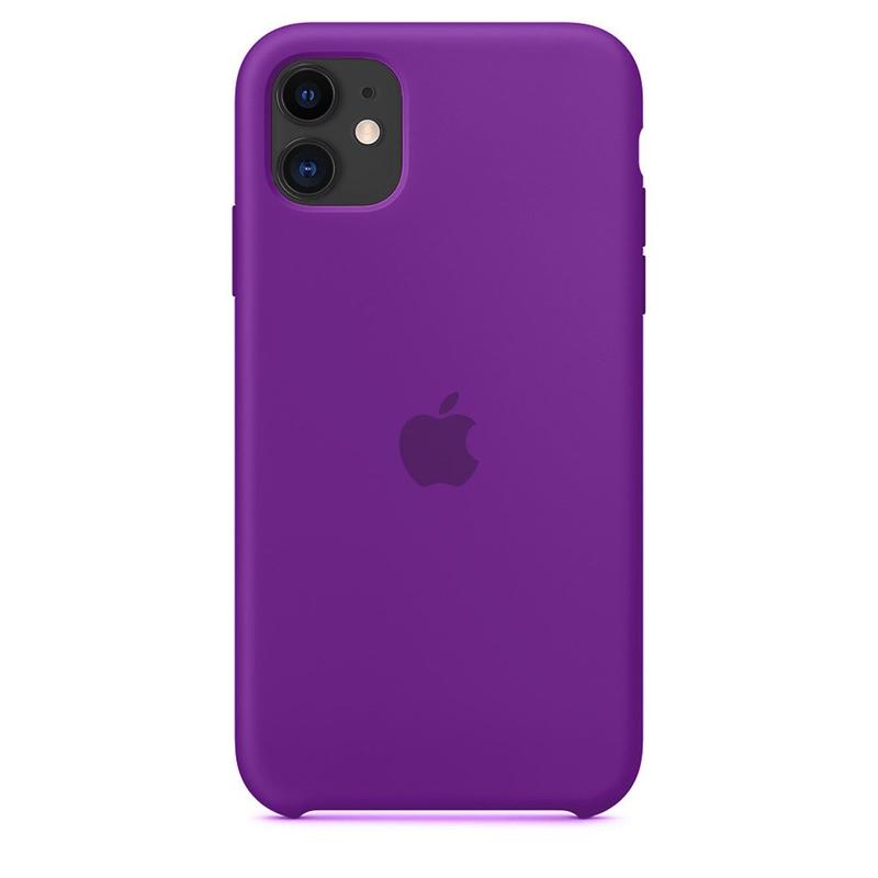 Case Capinha de Silicone Roxo Claro para iPhone 11