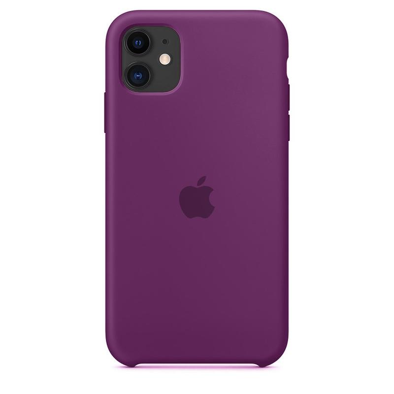 Case Capinha de Silicone Roxo para iPhone 11