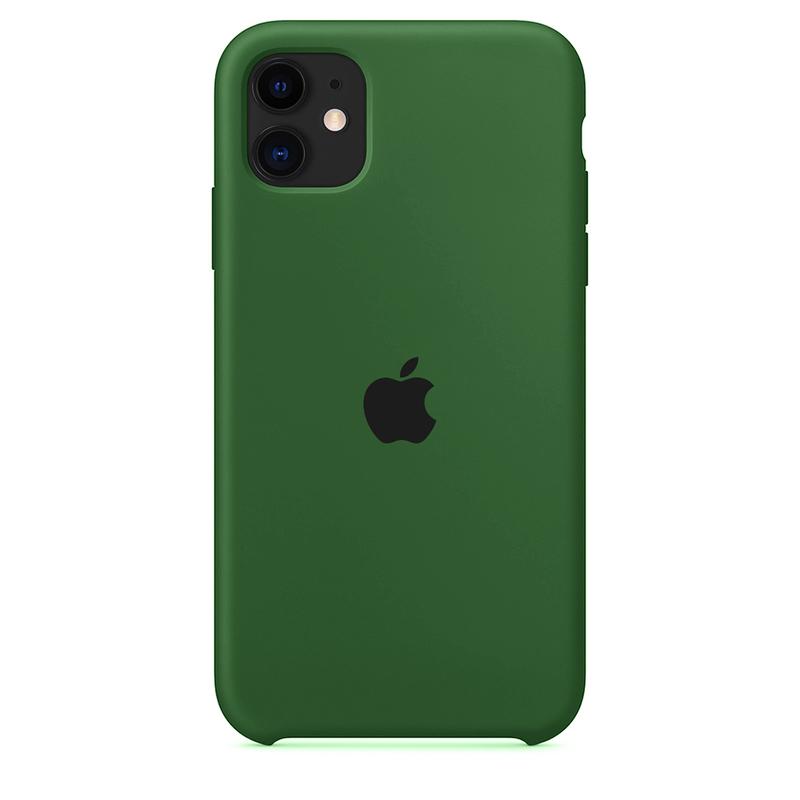 Case Capinha de Silicone Verde Bandeira para iPhone 11
