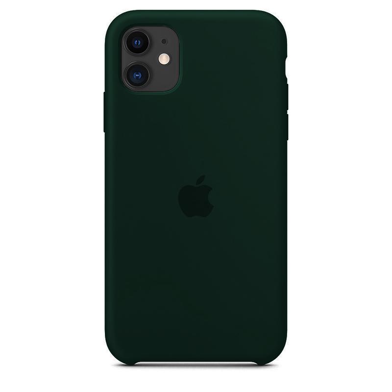 Case Capinha de Silicone Verde Floresta para iPhone 11