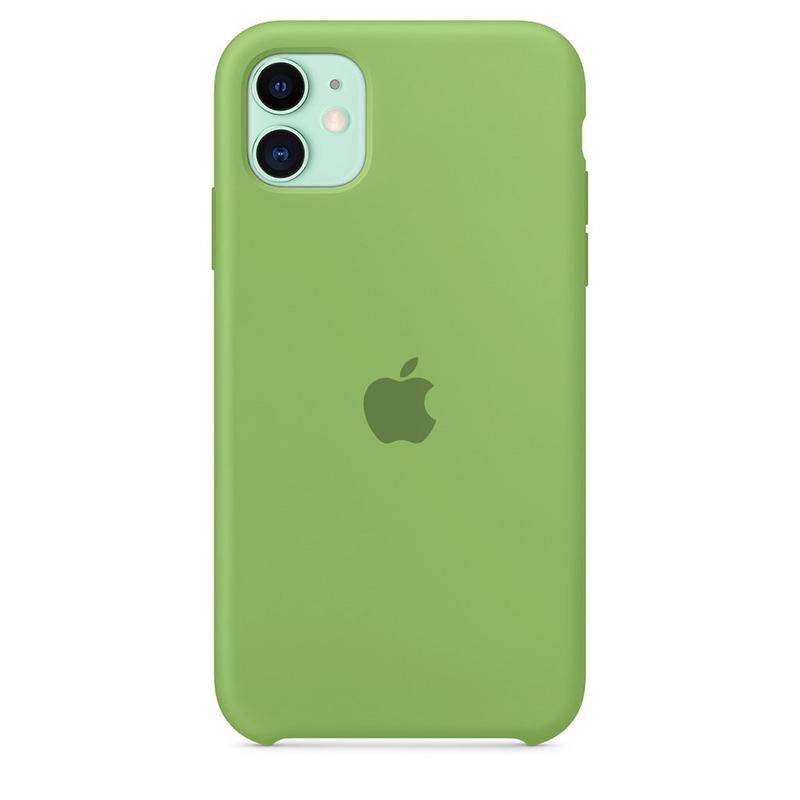 Case Capinha de Silicone Verde Menta para iPhone 11