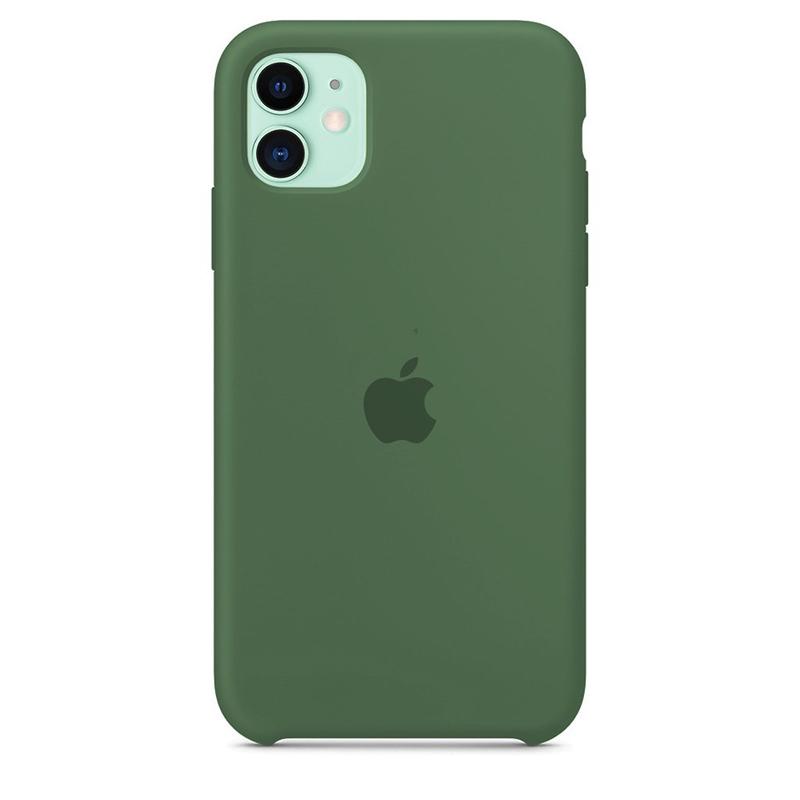 Case Capinha de Silicone Verde Pacífico para iPhone 11