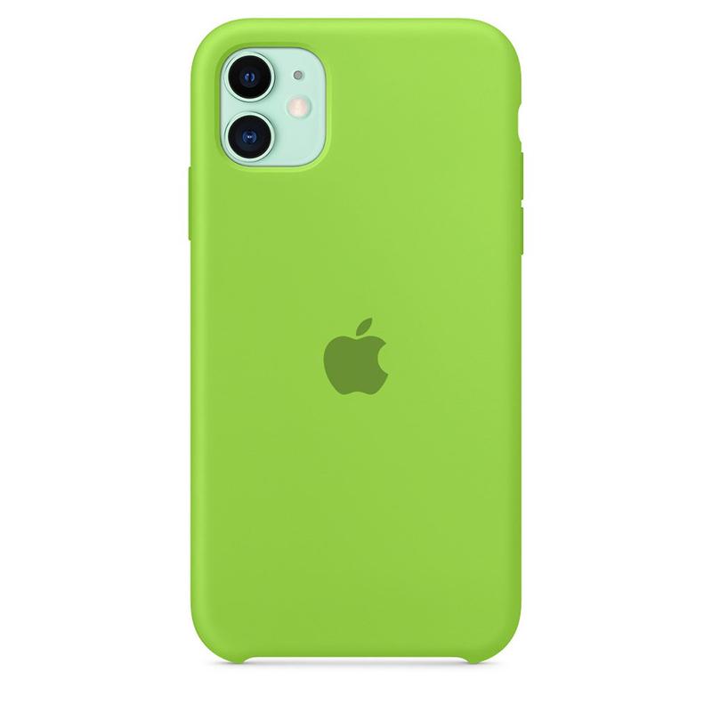Case Capinha de Silicone Verde para iPhone 11