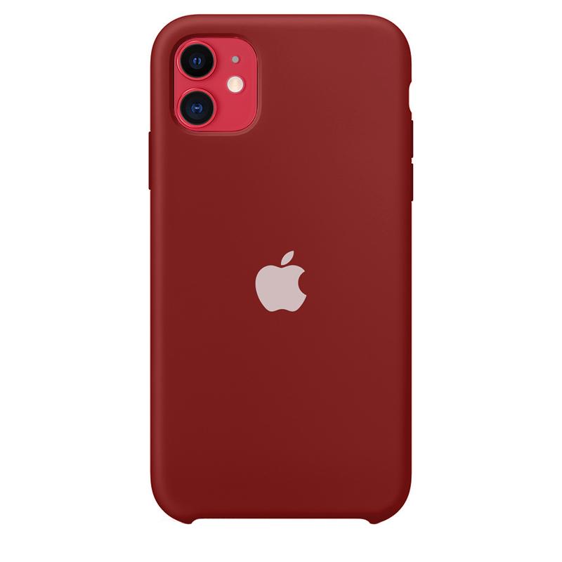 Case Capinha de Silicone Vermelho Old School para iPhone 11