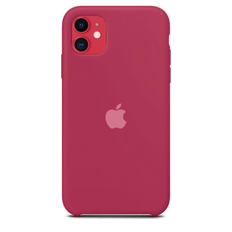 Case Capinha de Silicone Vinho para iPhone 11