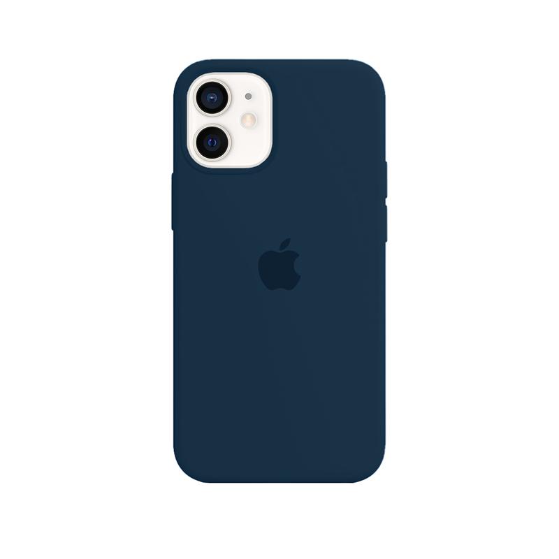 Case Capinha Azul Horizonte para iPhone 12 Mini de Silicone