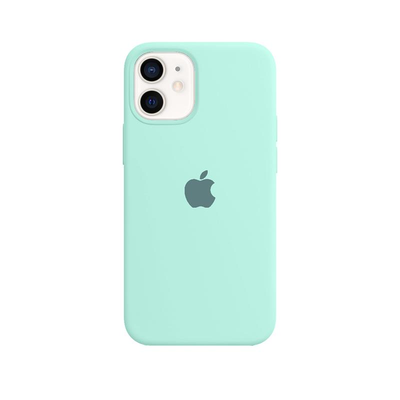 Case Capinha Azul Tiffany para iPhone 12 Mini de Silicone