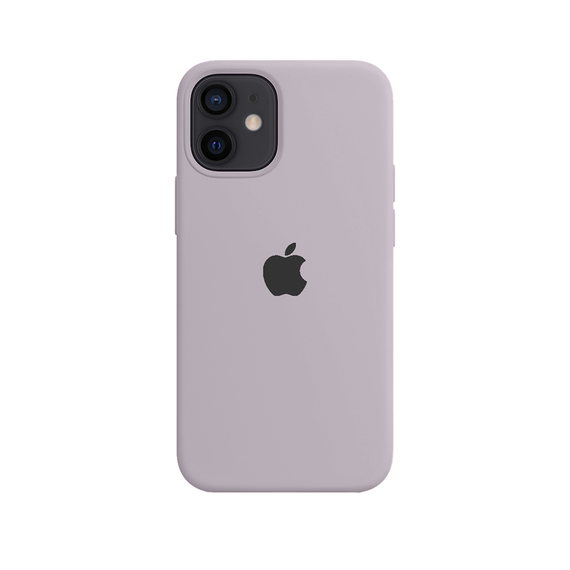 Case Capinha Cinza Concreto para iPhone 12 Mini de Silicone