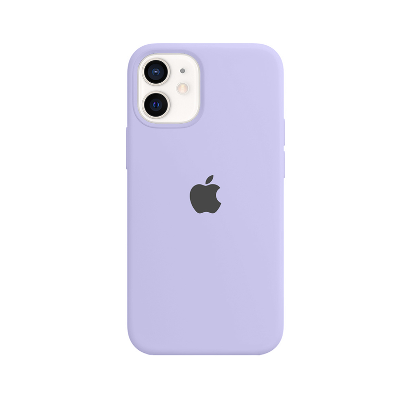 Case Capinha Lilás para iPhone 12 Mini de Silicone