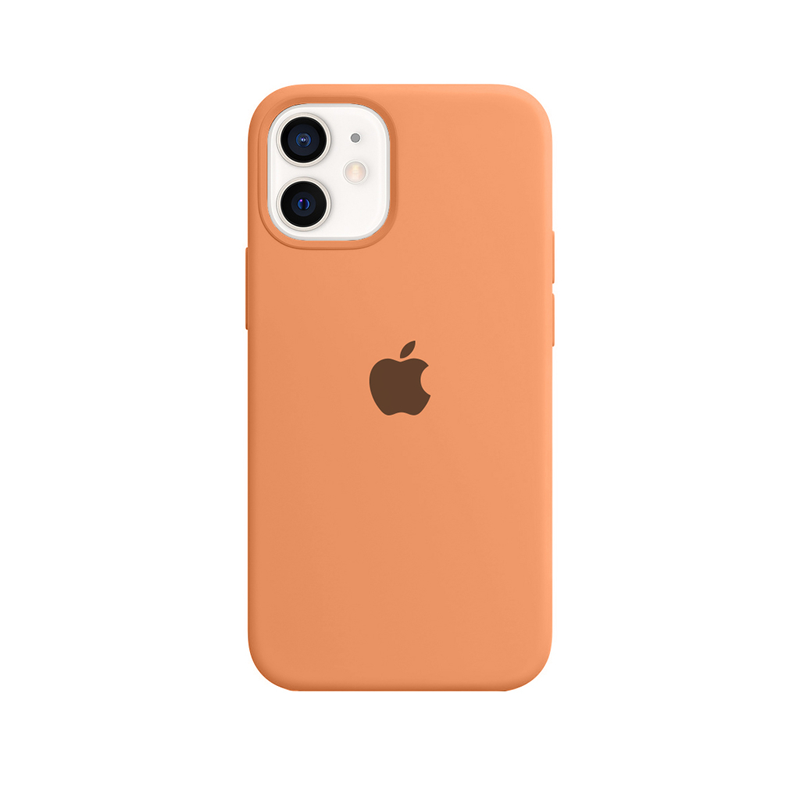 Case Capinha Tangerina para iPhone 12 Mini de Silicone