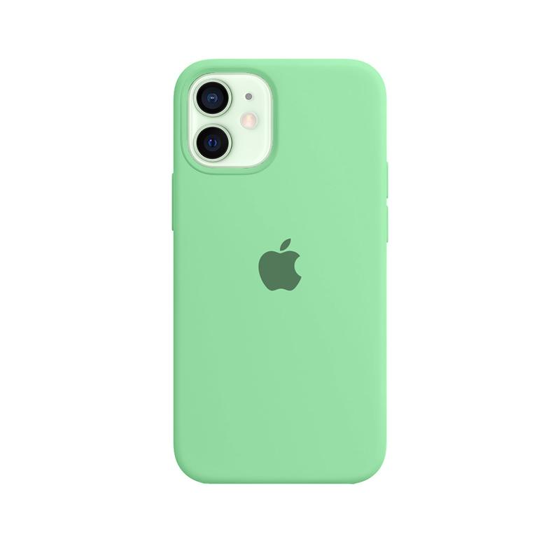 Case Capinha Verde Água para iPhone 12 Mini de Silicone