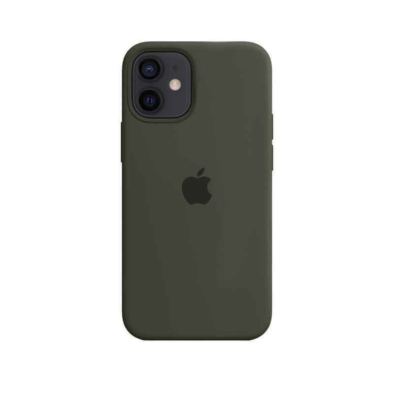Case Capinha Verde Militar para iPhone 12 Mini de Silicone