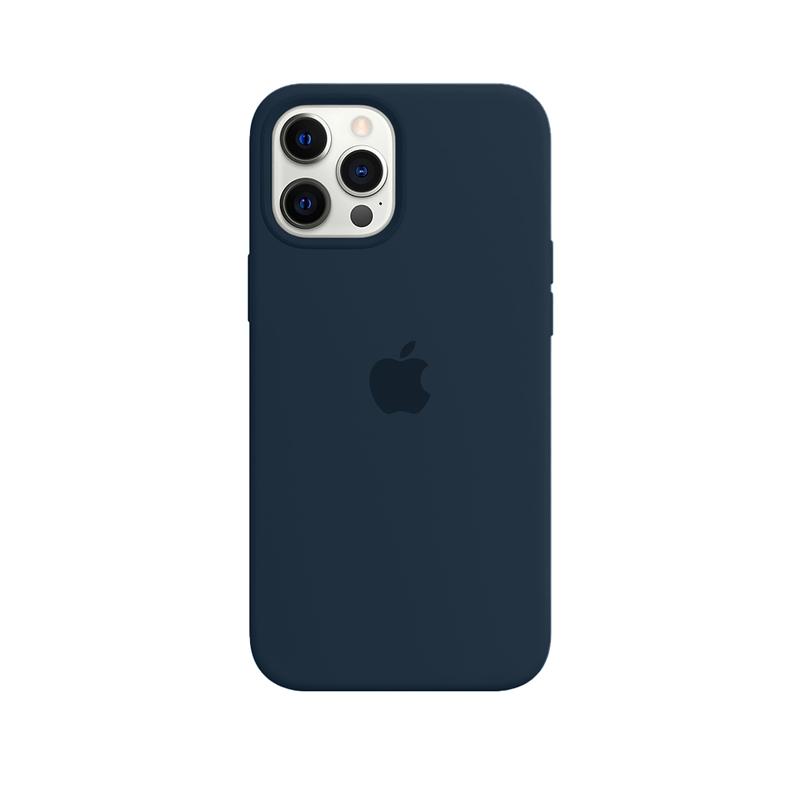 Case Capinha Azul Eclesiástico para iPhone 12 Pro Max de Silicone