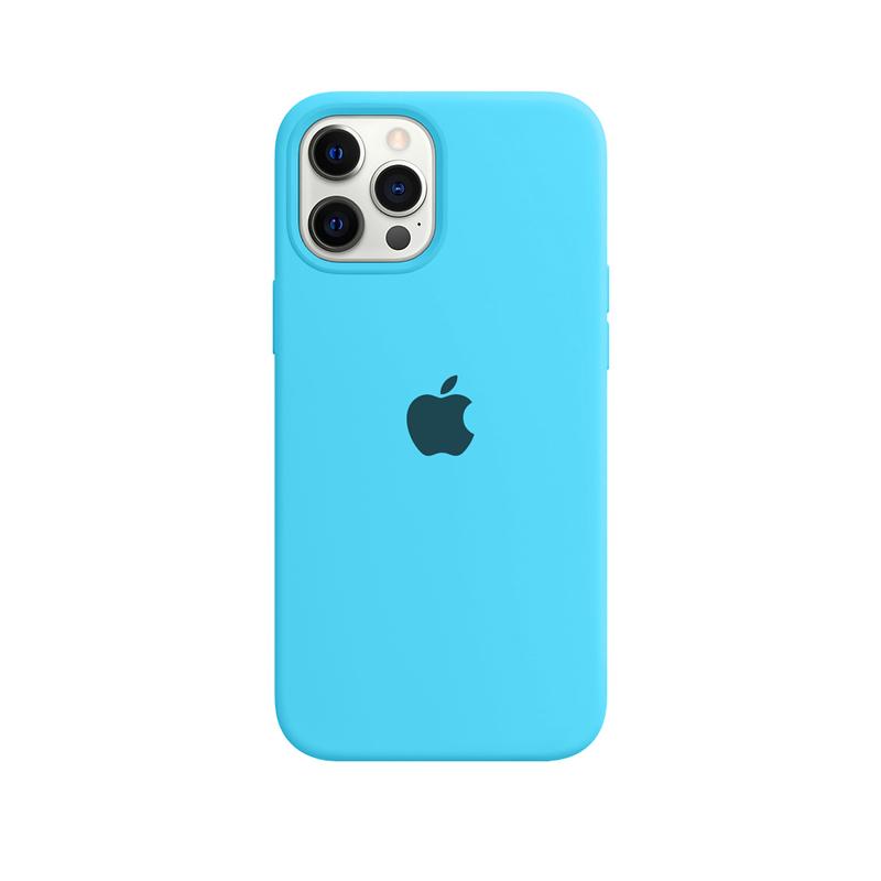 Case Capinha Azul Piscina para iPhone 12 Pro Max de Silicone
