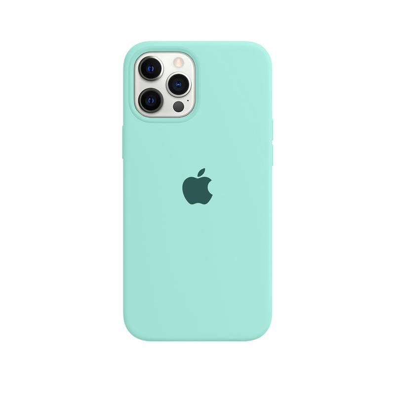 Case Capinha Azul Tiffany para iPhone 12 Pro Max de Silicone