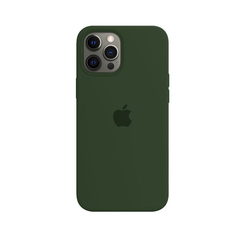 Case Capinha Verde Bandeira para iPhone 12 Pro Max de Silicone